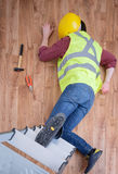 On the job injury Royalty Free Stock Images