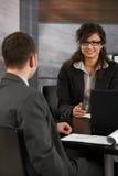Job interview Royalty Free Stock Photo