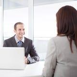 Job Interview Immagini Stock