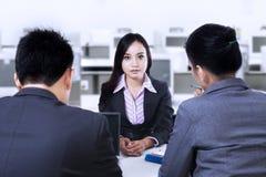 Job Interview Fotografía de archivo
