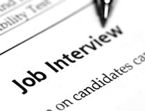 Free Job Interview Stock Photography - 40344922