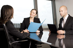 Job Interview Stock Image