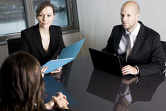 Job Interview Stock Photo
