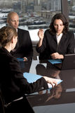 Job Interview Royalty Free Stock Photography