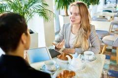 Job Interview Candidate Images libres de droits
