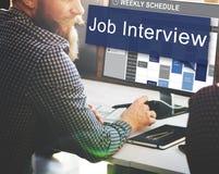 Job Interview Employment Human Resources Concept Stock Photo