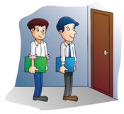 Job Interview. Illustrator design .eps 10 Royalty Free Illustration