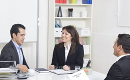 Job interview Royalty Free Stock Images