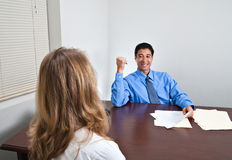 Job Interview Meeting Royalty Free Stock Images