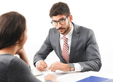 Job interview Stock Photography