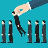 Job interview. Recruitment Hand. Vector illustration. Job interview. Recruitment Hand. Vector image Royalty Free Stock Photo