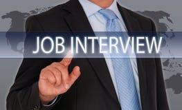Job Interview - rekrutering en het huren royalty-vrije stock fotografie