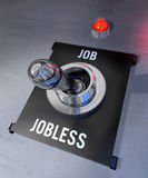 Job or Jobless Royalty Free Stock Image