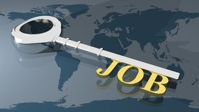 Job key Stock Image