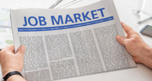 Job Market Arkivfoto
