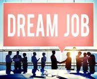 Job Occupation Career Aspiration Concept di sogno Fotografia Stock Libera da Diritti