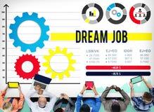 Job Occupation Goals Career Concept ideal Imagenes de archivo