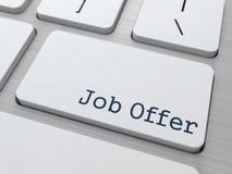 Job Offer. Concepto del negocio. Imágenes de archivo libres de regalías