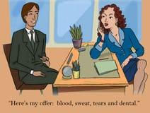 Job offer Stock Image