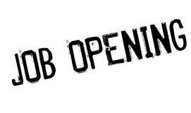 Job Opening-Stempel Lizenzfreie Stockbilder