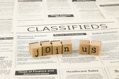 Job opportunities Stock Photo