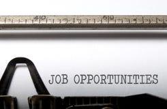 Job opportunities Stock Photos