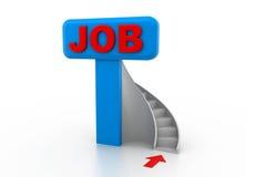 Job opportunity. 3d illustration of job opportunity Stock Image