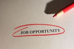 Job Opportunity Stock Images