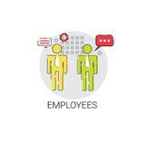 Job Position Vacancy Icon Business för Employeers rekryteringkandidat begrepp Royaltyfri Bild