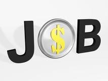 Job profit Stock Image
