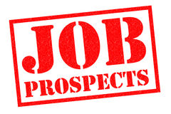 JOB PROSPECTS Rubber Stamp Royalty Free Stock Images