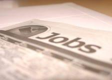 Job-Recherche Lizenzfreie Stockbilder