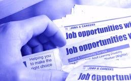Job-Recherche Lizenzfreie Stockfotografie
