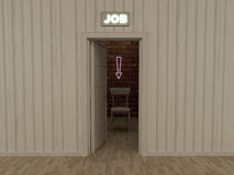 Job room Royalty Free Stock Photos
