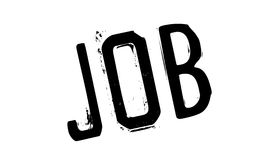 Job rubber stamp Royalty Free Stock Images