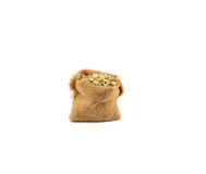 Job's tears or coix seed sacks Stock Images