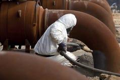 Job sandgestrahlt Lizenzfreie Stockfotografie