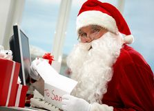 Job of Santa Stock Images
