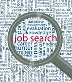 Job search Royalty Free Stock Image