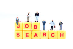 Job search Royalty Free Stock Photo