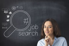 Job Search Royalty Free Stock Photography