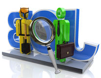 Job search and career choice employment concept Stock Photo