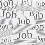 Job search concept Stock Images