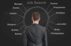 Job search concept Stock Photography