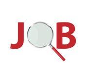 Job Search Concept Vector Illustration Photo libre de droits