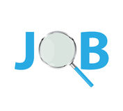 Job Search Concept Vector Illustration Stock Photo