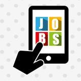 job search design Stock Photos