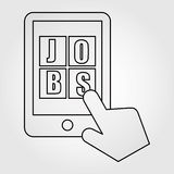 job search design Stock Images