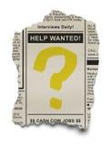 Job Search Royalty Free Stock Photos