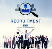 Job Search Hiring Website Word Concept Royalty Free Stock Images